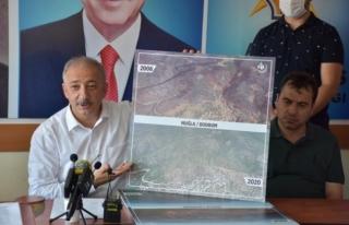 AK Parti Muğla İl Başkanı Kadem Mete, Orman Yangınlarıyla...