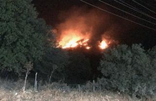 Bodrum'da Çıkan Yangın 2,5 Saat Sonra Kontrol...