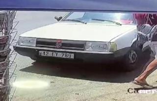 Bodrum'daki Otomobil 30 Saniyede Çalındı
