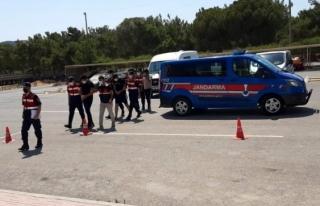 Bodrum'daki Demir Hırsızları Yakalandı