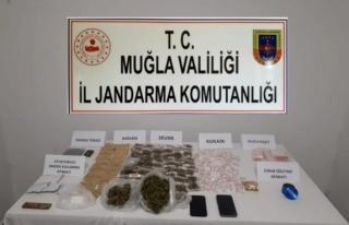 Bodrum'da Uyuşturucu Operasyonu: İki Şüpheli...
