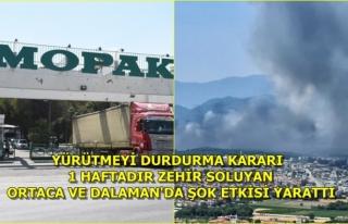Dalaman'daki Mopak Kağıt Fabrikasını Bakanlık...