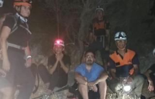 Datça'da Kaybolan Kişi 3 saat Sonra Bulundu