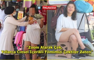 Denizli'de Alkollü Genç Kadın Polisi Çileden...