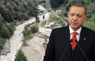 Erdoğan'dan Rize'deki Sel Felaketiyle İlgili...