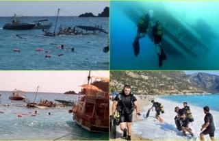 Fethiye'de 1 Çocuğun Öldüğü Batan Tur Teknesinin...