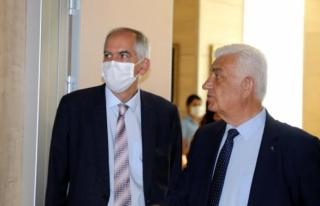 Fransa Büyükelçisi Magro'dan Başkan Osman...