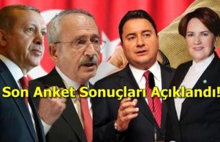 İYİ Parti ve DEVA Partisi'nin Yükselişi Devam...