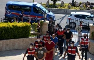 Jandarmadan Marmaris'te Operasyon: 10 Gözaltı