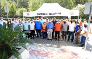 Marmaris'te Kadrolu İşçilere Yüzde 14.55...