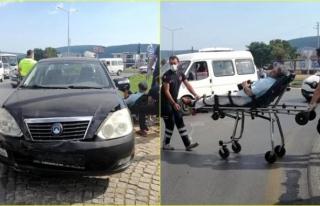 Menteşe'de Kaza Yapan Sürücü Şoka Girdi