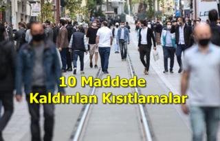 Türkiye, Kademeli Normalleşmenin Üçüncü Etabına...