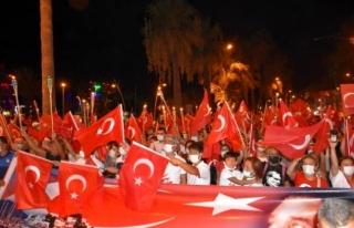 30 Ağustos Zafer Bayramı Marmaris'te Coşkuyla...