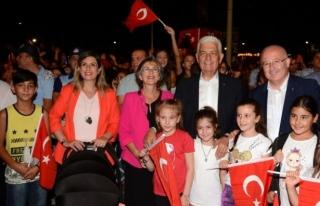 30 Ağustos Zafer Bayramı Menteşe'de Coşkuyla...