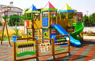 AKP'li Belediye Çocuk Parklarının Olduğu...
