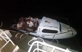 Bodrum'da Tekneyle Kaçarken Yakalanan FETÖ'cüler...