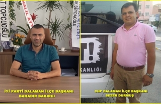 DALAMAN İYİ PARTİ VE CHP YÖNETİMİ GENEL MERKEZE...