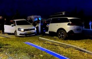 Dalaman'da İki 0tomobil Çarpıştı: 3 Yaralı