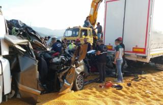 Manisa'nın Salihli İlçesinde Korkunç Kaza!