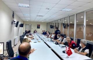 Muğla'da AFAD Koordinasyon ve Değerlendirme...