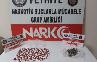 Muğla'da Uyuşturucu Operasyonunda Yakalanan...