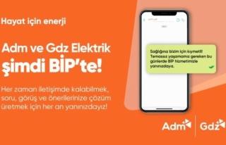 Adm ve Gdz Elektrik, Müşterilerine BİP'ten...