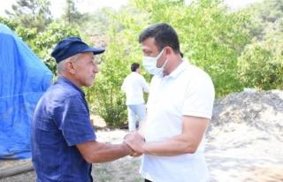 AK Parti Genel Başkan Yardımcısı Dağ, Marmaris'teki...