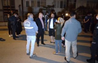 Ankara'da Gece Yarısı 24 Daireli Bina Boşaltıldı!