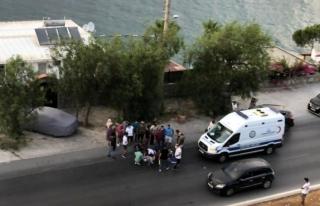 Bodrum'da Motosiklet Yayaya Çarptı: 2 yaralı