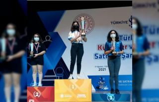 Büyükşehir Satranççısı Dünya Şampiyonasında...