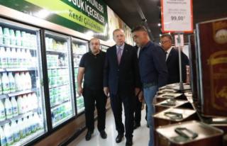 Cumhurbaşkanı Erdoğan'ın Alışverişindeki...