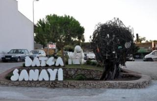 Datça'da 'Sanayi Ağacı' Heykelinin...