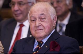 Galatasaray'ın Eski Başkanı Duygun Yarsuvat...