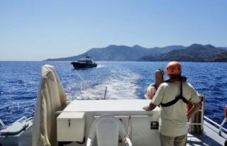 Göcek Açıklarında Yangın Çıkan Teknedeki 4...