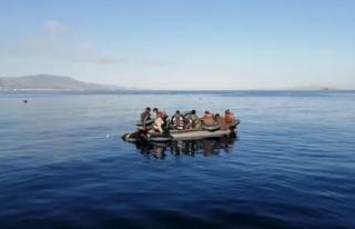 Marmaris'te 35 Düzensiz Göçmen Kurtarıldı