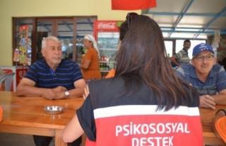 Marmaris'te Yangın Mağdurlarına Psikolojik...