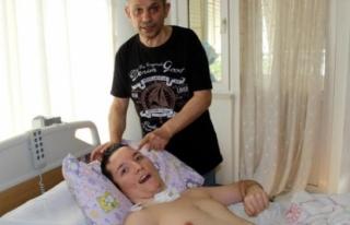 Marmaris'teki Kaza Sonrası Engelli Kalan Oğluna...