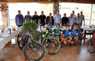 Milas Dağ Bisikleti Şampiyonası'na Ev Sahipliği...