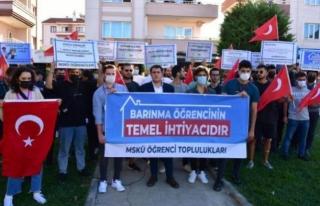 Muğla'daki Öğrencilerden 'Barınma'...