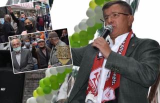 """Vatandaştan Davutoğlu'na: """"Neden Davanı..."""