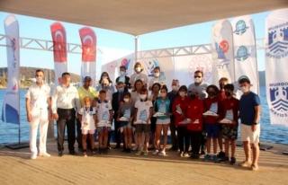 Bodrum'daki TYF 2021 Optimist Türkiye Şampiyonası...
