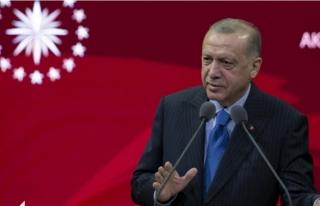 Cumhurbaşkanı Erdoğan'dan 'Kapanma'...