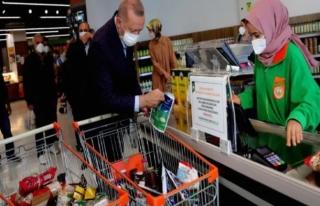 Erdoğan Ucuz Bulduğu Markette 1002 TL Harcadı