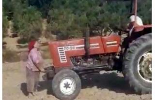 İki Kardeş, Miras Yüzünden Ablalarını Traktörle...