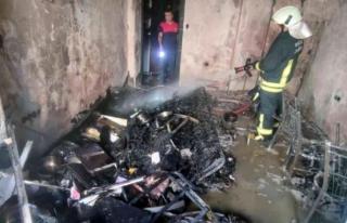 Marmaris'te Konut Yangını