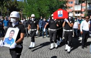 Milas'ta Hayatını Kaybeden Polis İçin Tören...