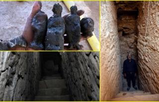 Milas'taki Beçin Antik Kenti'nde Bulunan...