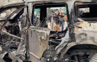 Taliban'ın Aracına Bombalı Saldırı!