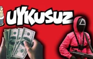 Uykusuz'dan Dolar ve Squid Game'li Kapak