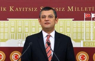 CHP GRUP BAŞKANVEKİLİ ÖZGÜR ÖZEL, MUĞLA'NIN...
